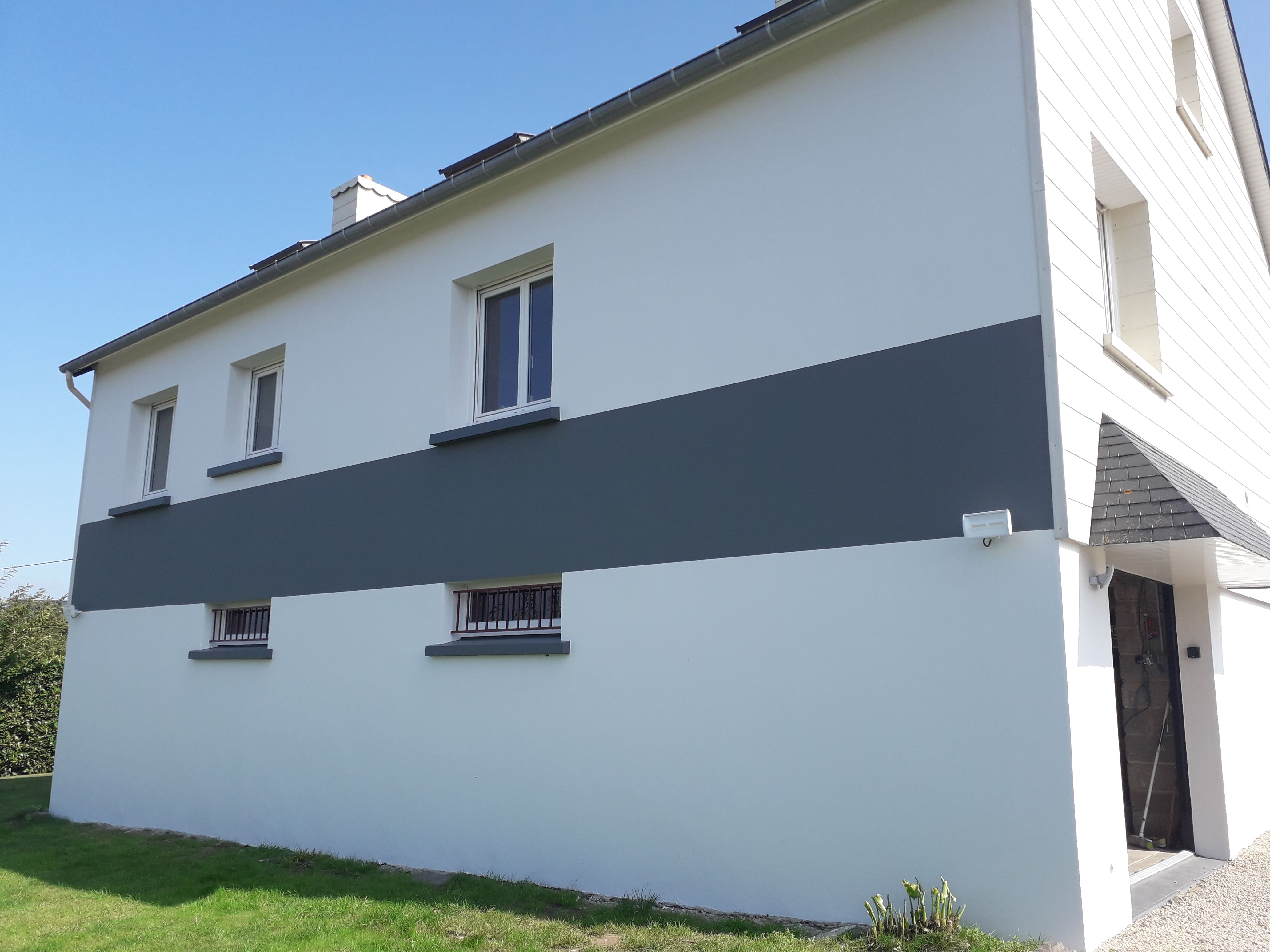 ravalement de façade APRES , Plaine Haute, 22, déco peinture